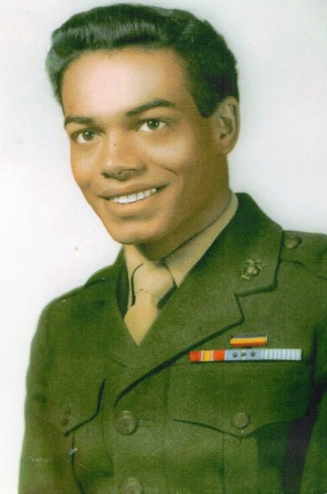 Dad in His Marine Uniform